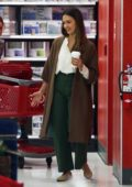 Jessica Alba shops for some last minute Thanksgiving essentials at Target in Los Angeles
