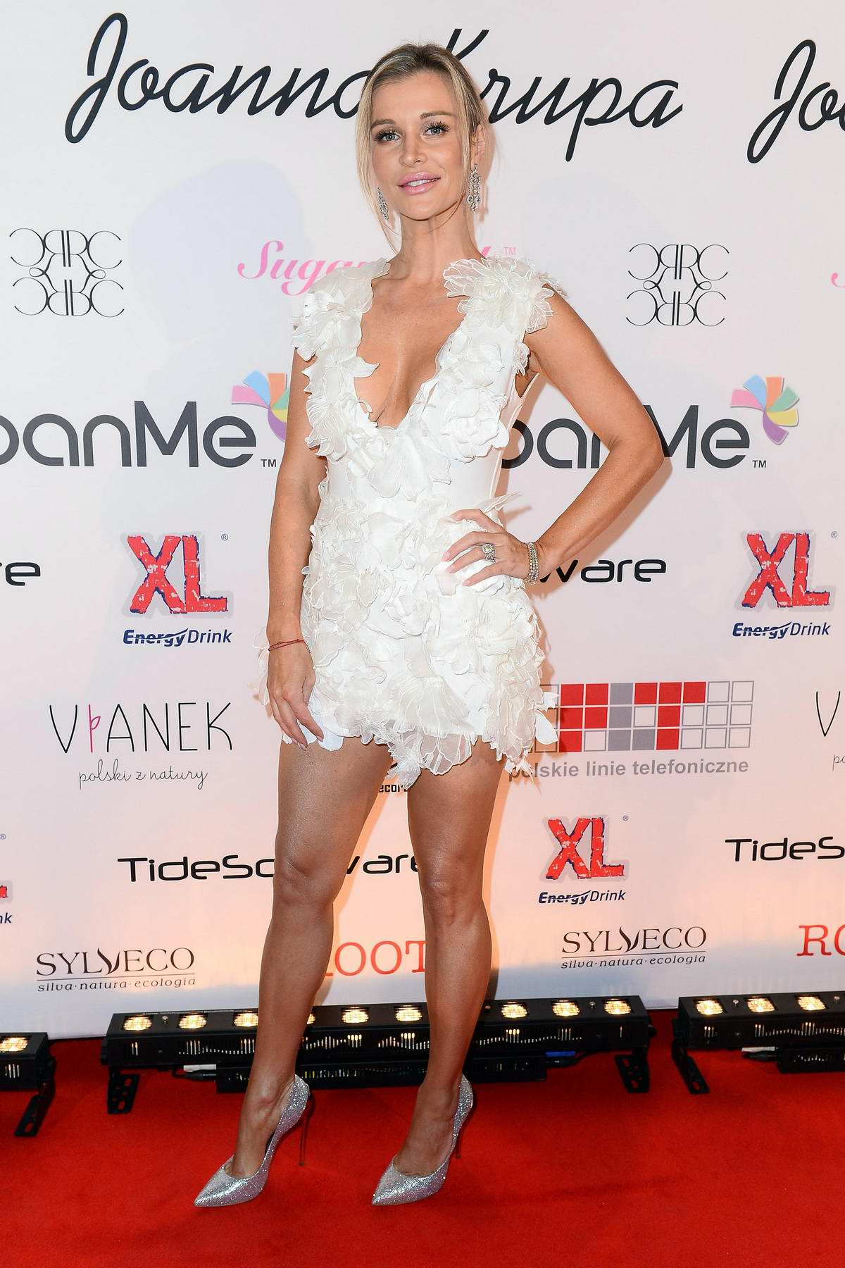Joanna Krupa attends the Animals Rights Gala in Warsaw, Poland