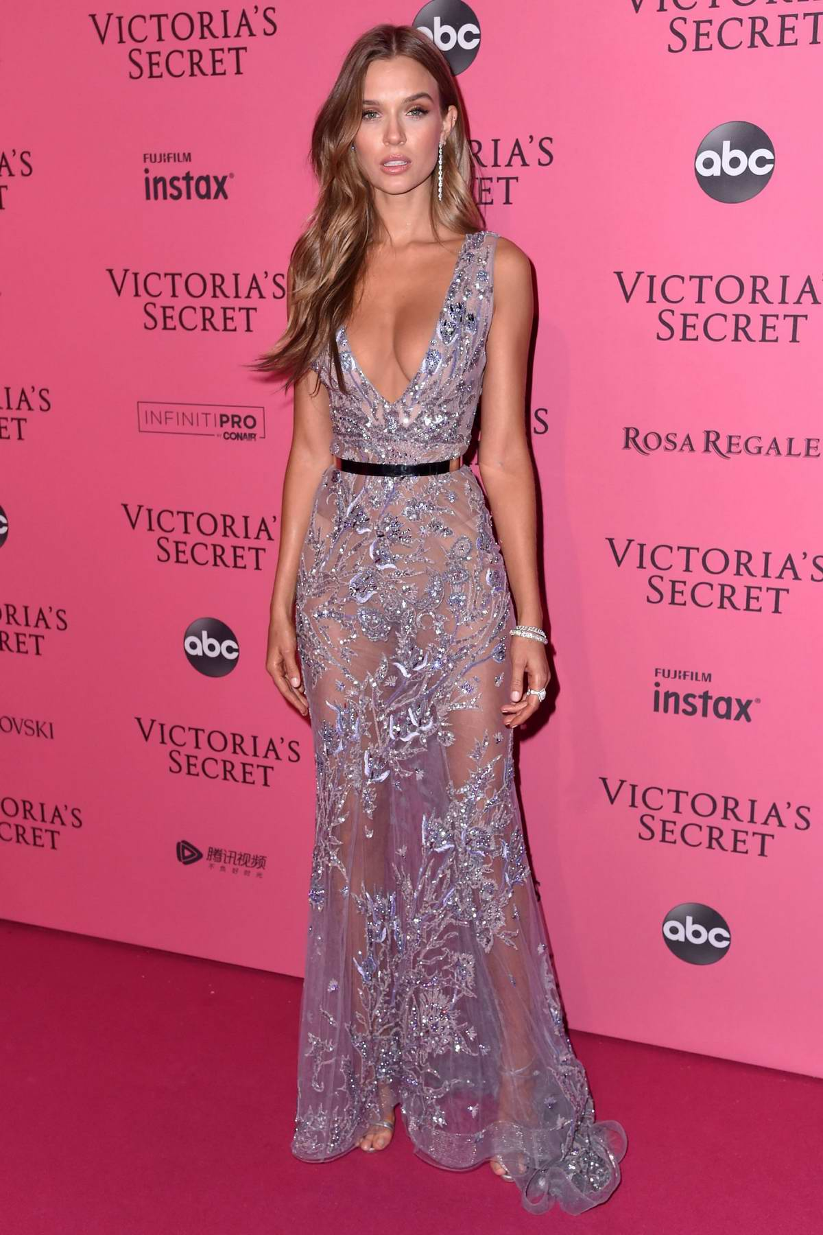 Josephine Skriver attends the 2018 Victoria's Secret Fashion Show After-Party in New York City