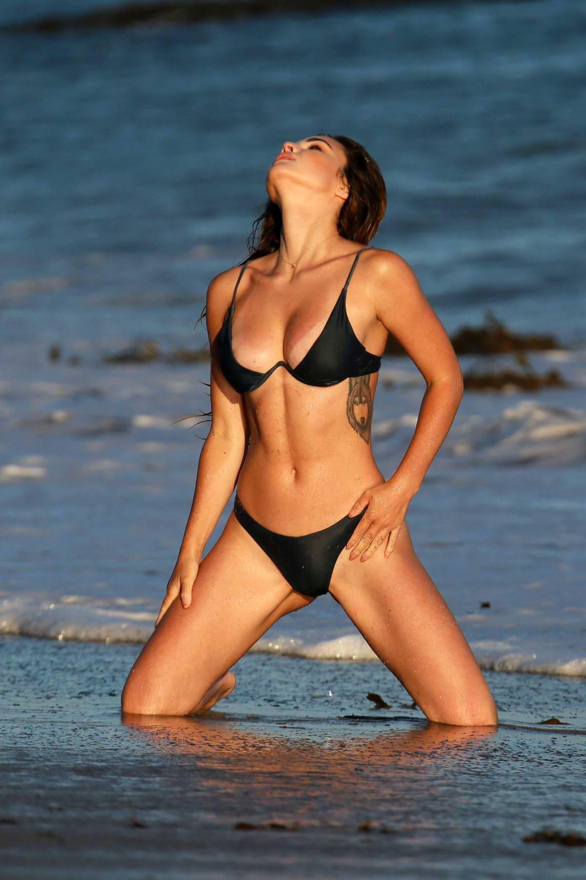 Mercedes South Charlotte >> kaili thorne poses in a bikini during beach photoshoot for ...