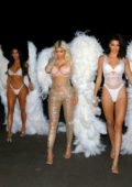Kardashian - Jenner Sisters dress up as Victoria'a Secret Angels for Kim's Halloween Party in Los Angeles