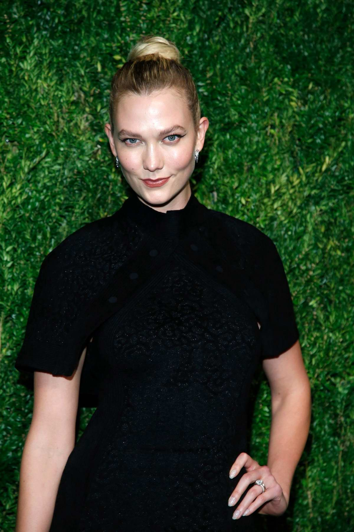 Karlie Kloss attends CFDA Vogue Fashion Fund 15th Anniversary Awards in Brooklyn, New York City