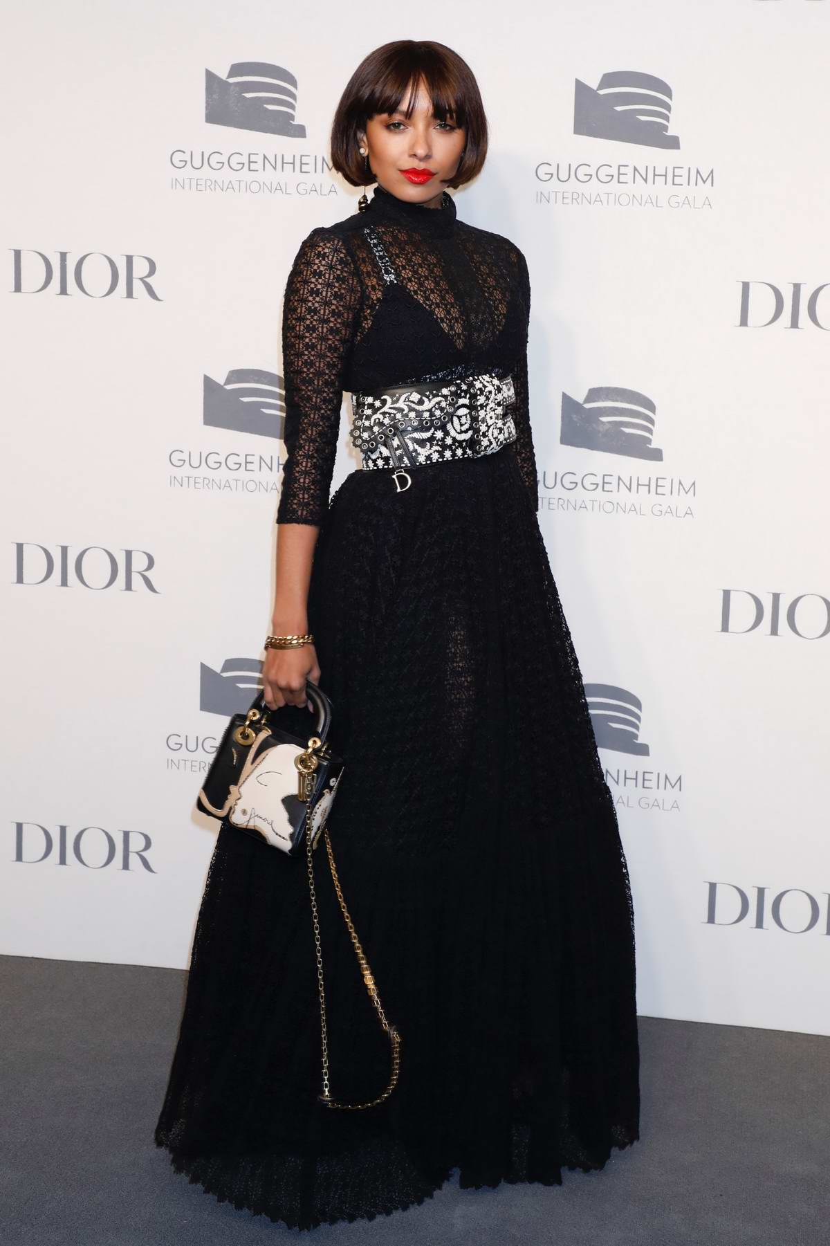 Kat Graham attends Guggenheim International Gala Pre-Party hosted by Dior in New York City