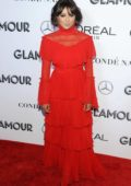 Kat Graham attends the Glamour Women of the Year Awards 2018 in New York City