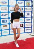 Kate Bock attends the Sports Illustrated Best Buddies Celebrity Soccer Event on Miami Beach, Florida