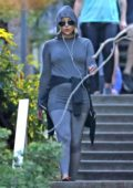 Kate Hudson spotted in a hoodie as she leaves a workout session in Los Angeles