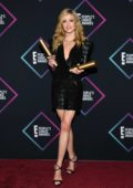 Katherine McNamara attends People's Choice Awards 2018 at Barker Hangar in Santa Monica, California