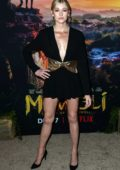 Katherine McNamara attends the Netflix's 'Mowgli: Legend of the Jungle' Premiere in Los Angeles