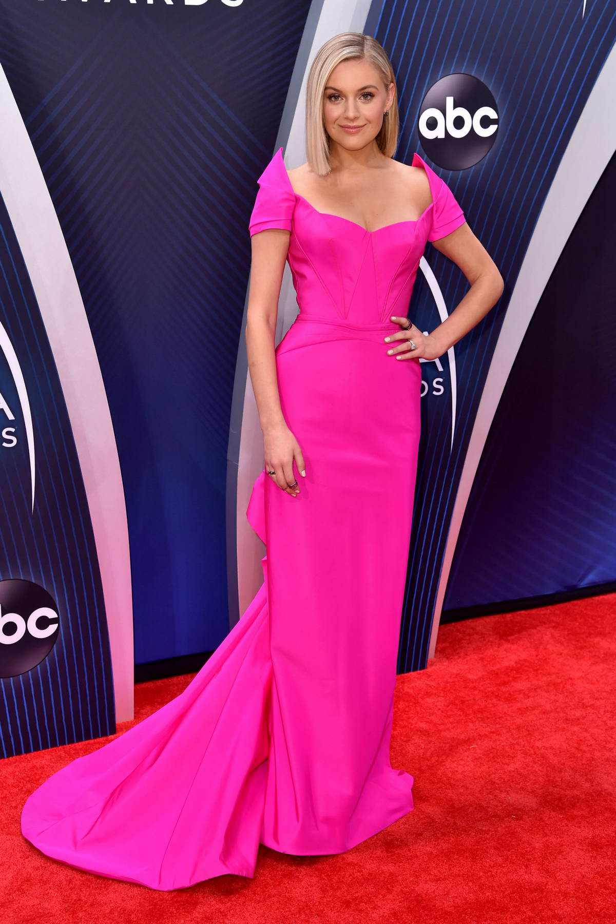 Kelsea Ballerini attends 52nd annual CMA Awards at the Bridgestone Arena in Nashville, Tennessee