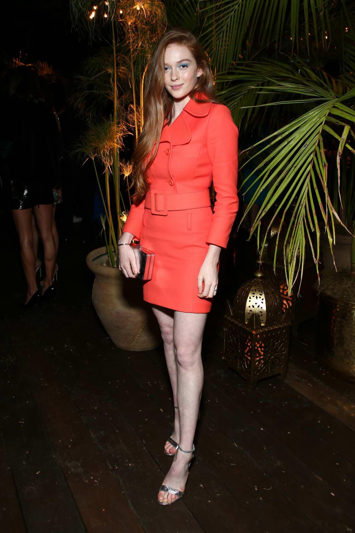 Larsen Thompson attending Michael Kors x Kate Hudson Dinner in Los Angeles