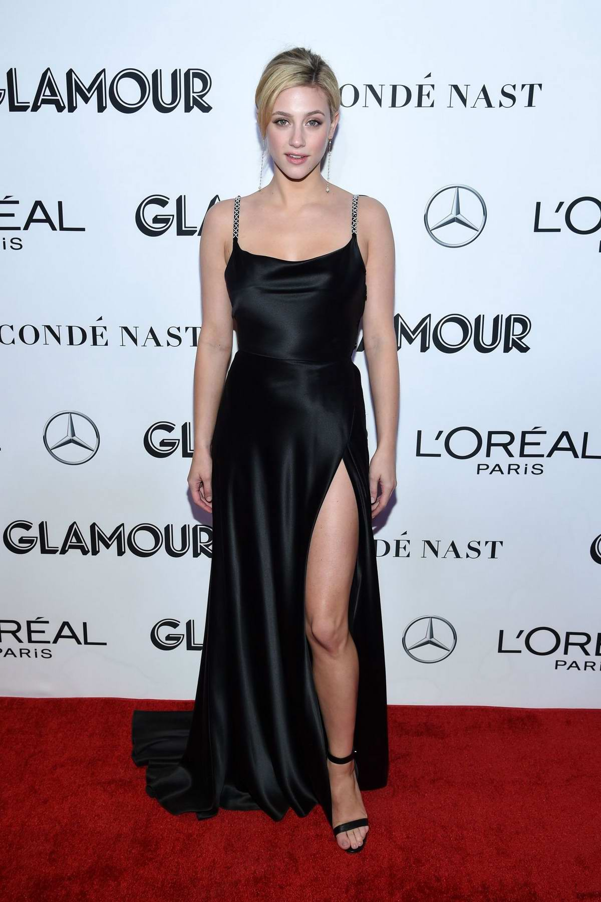 Lili Reinhart attends the Glamour Women of the Year Awards 2018 in New York City