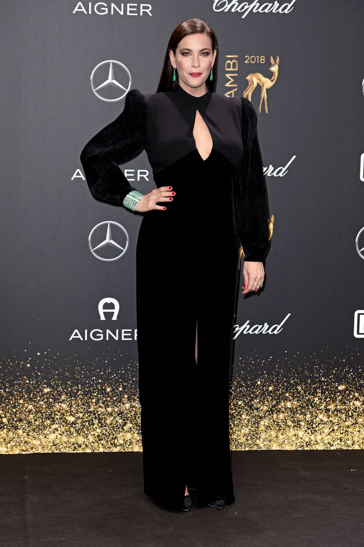 Liv Tyler attends 70th annual Bambi Awards (BAMBI 2018) at Theater at Potsdamer Platz in Berlin, Germany