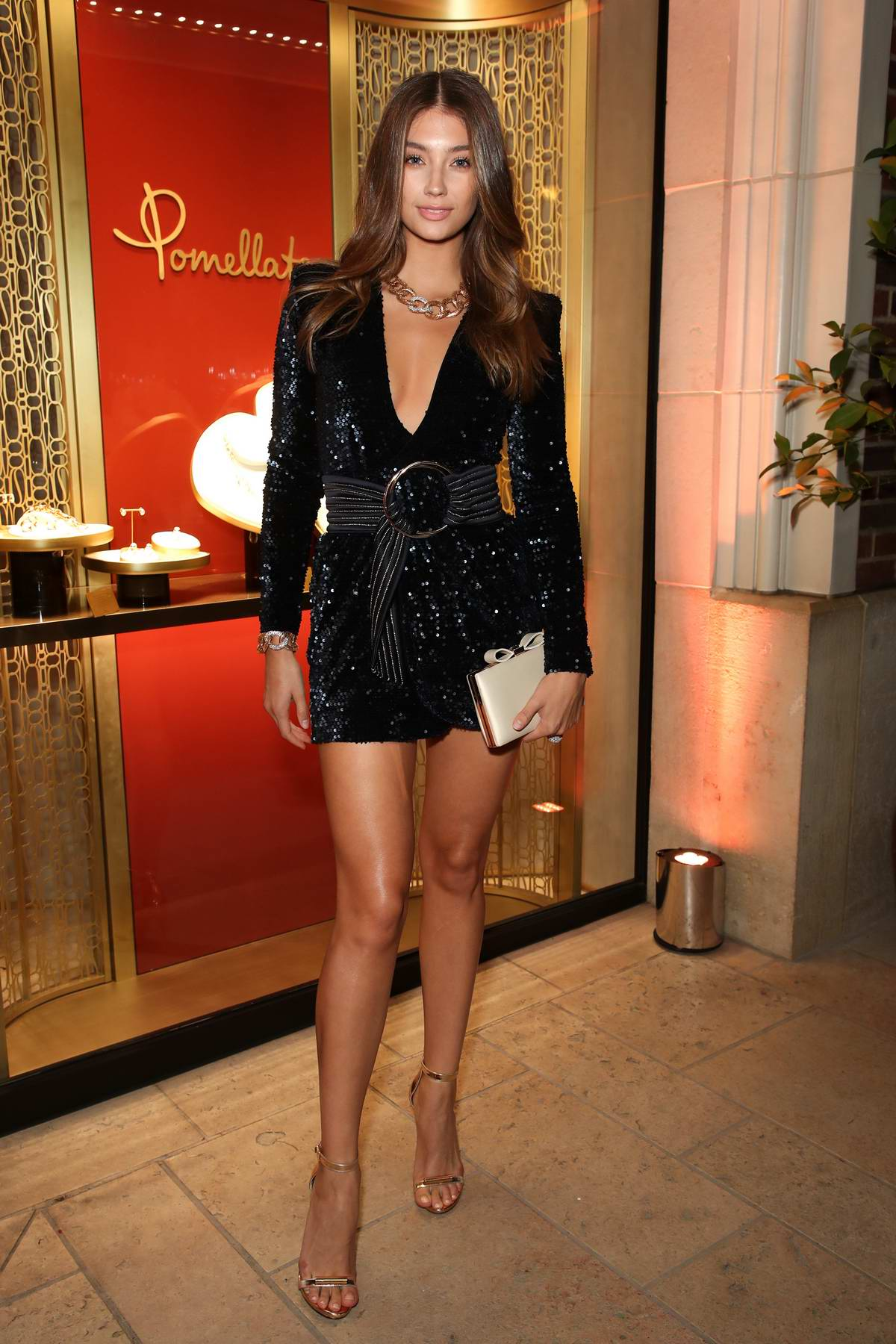 Lorena Rae attends Pomellato Beverly Hills Boutique party in Los Angeles