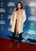 Lucy Watson attends Hyde Park Winter Wonderland VIP launch at Hyde Park in London, UK