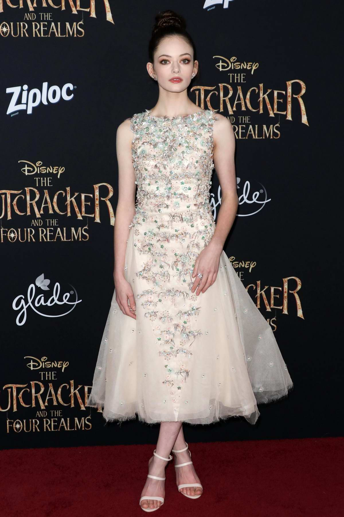 Mackenzie Foy attends 'The Nutcracker And The Four Realms' at the Ray Dolby Ballroom in Hollywood, Los Angeles
