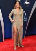 Maren Morris attends 52nd annual CMA Awards at the Bridgestone Arena in Nashville, Tennessee