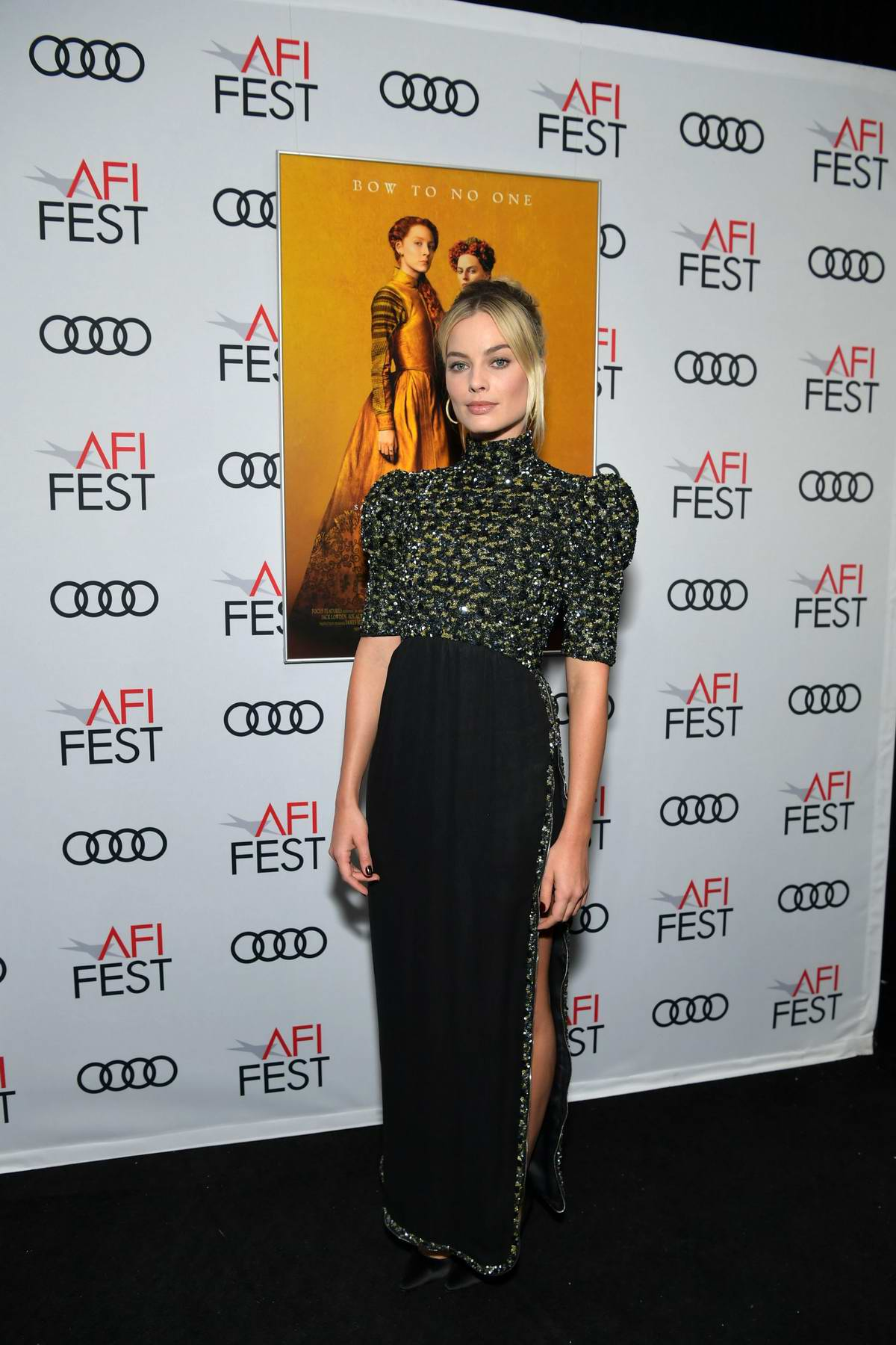 Margot Robbie attends 'Mary Queen Of Scots' Screening during the 2018 American Film Institute Film Festival in Los Angeles