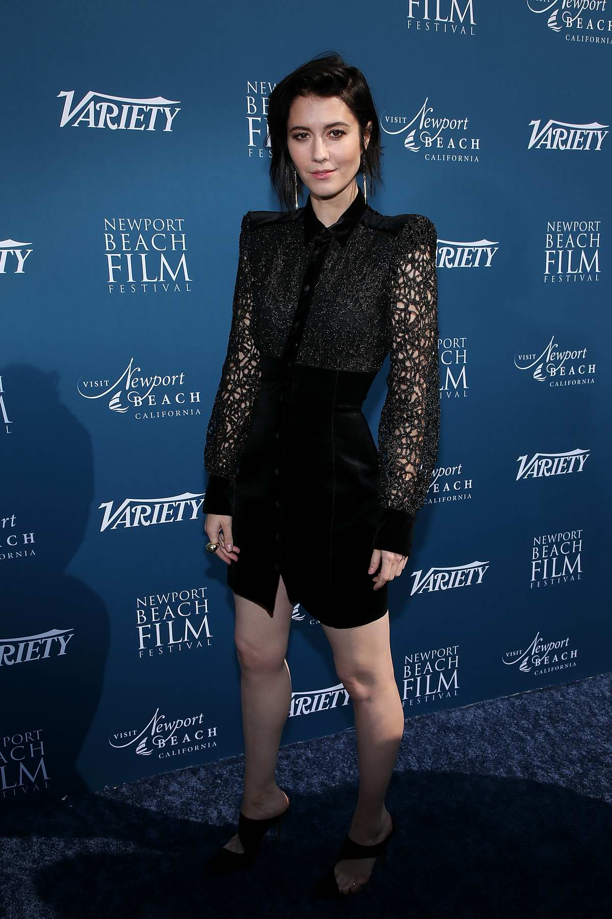 Mary Elizabeth Winstead attends Newport Beach Film Festival Fall Honors And Variety's 10 Actors To Watch in Newport Beach, California