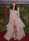 Maya Jama attends the 64th Evening Standard Theatre Awards at the Theatre Royal Drury Lane in London, UK
