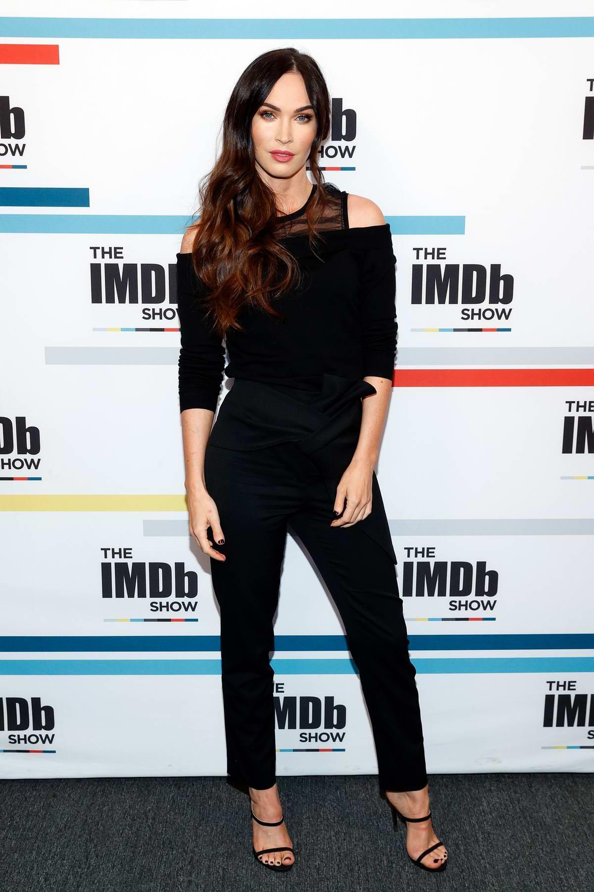 Megan Fox visits 'The IMDB Show' in Studio City, Los Angeles