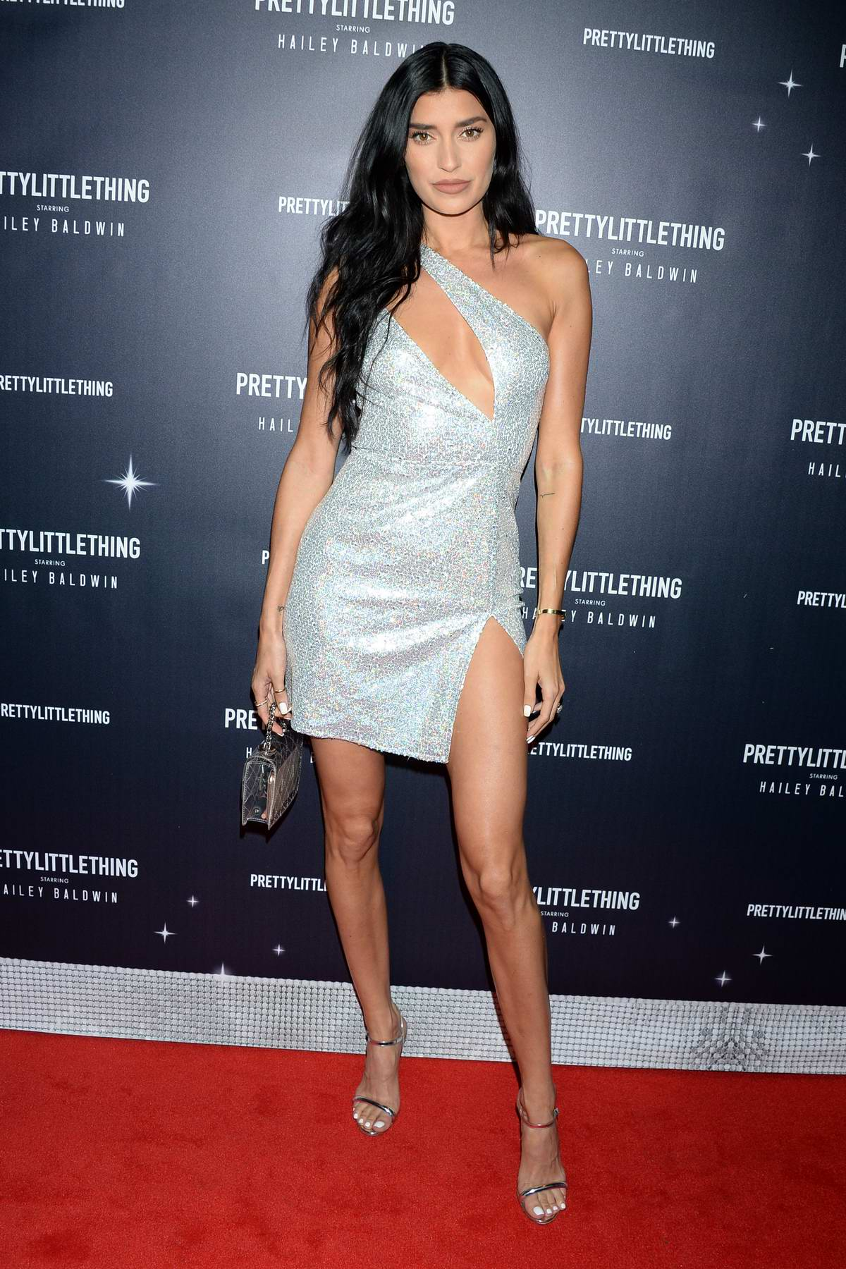 Nicole Williams attends PrettyLittleThing x Hailey Baldwin Event in Los Angeles