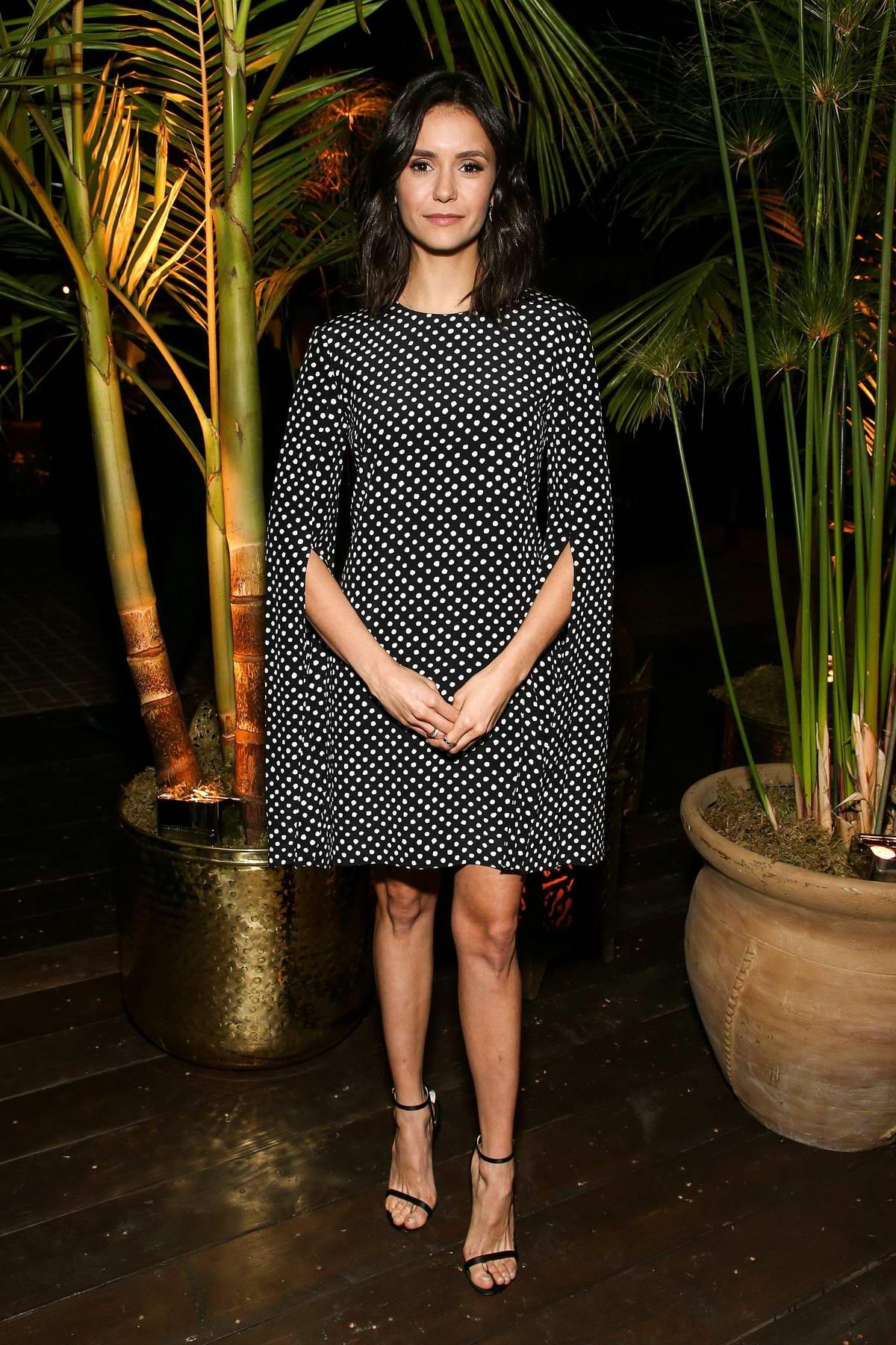 Nina Dobrev attending Michael Kors x Kate Hudson Dinner in Los Angeles