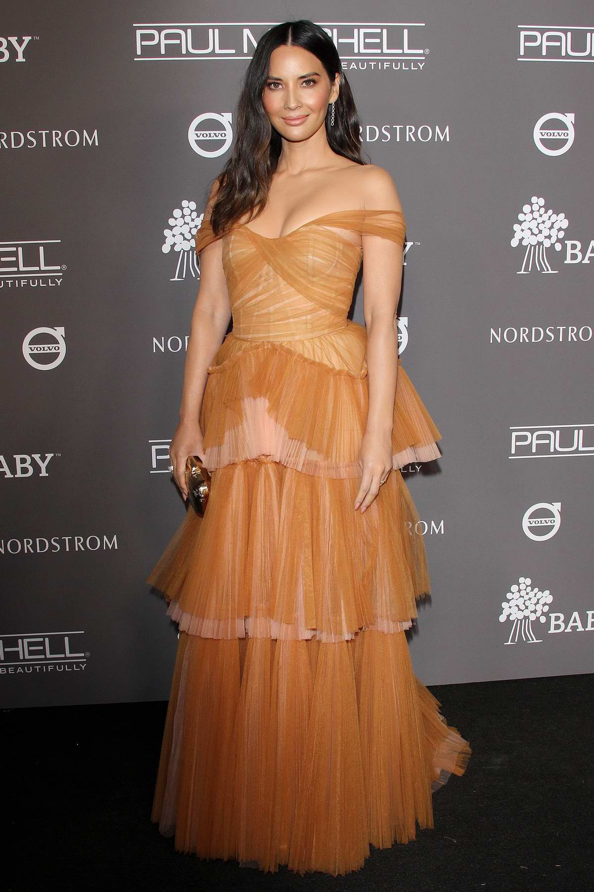 Olivia Munn attends 2018 Baby2Baby Gala Presented by Paul Mitchell in Culver City, California