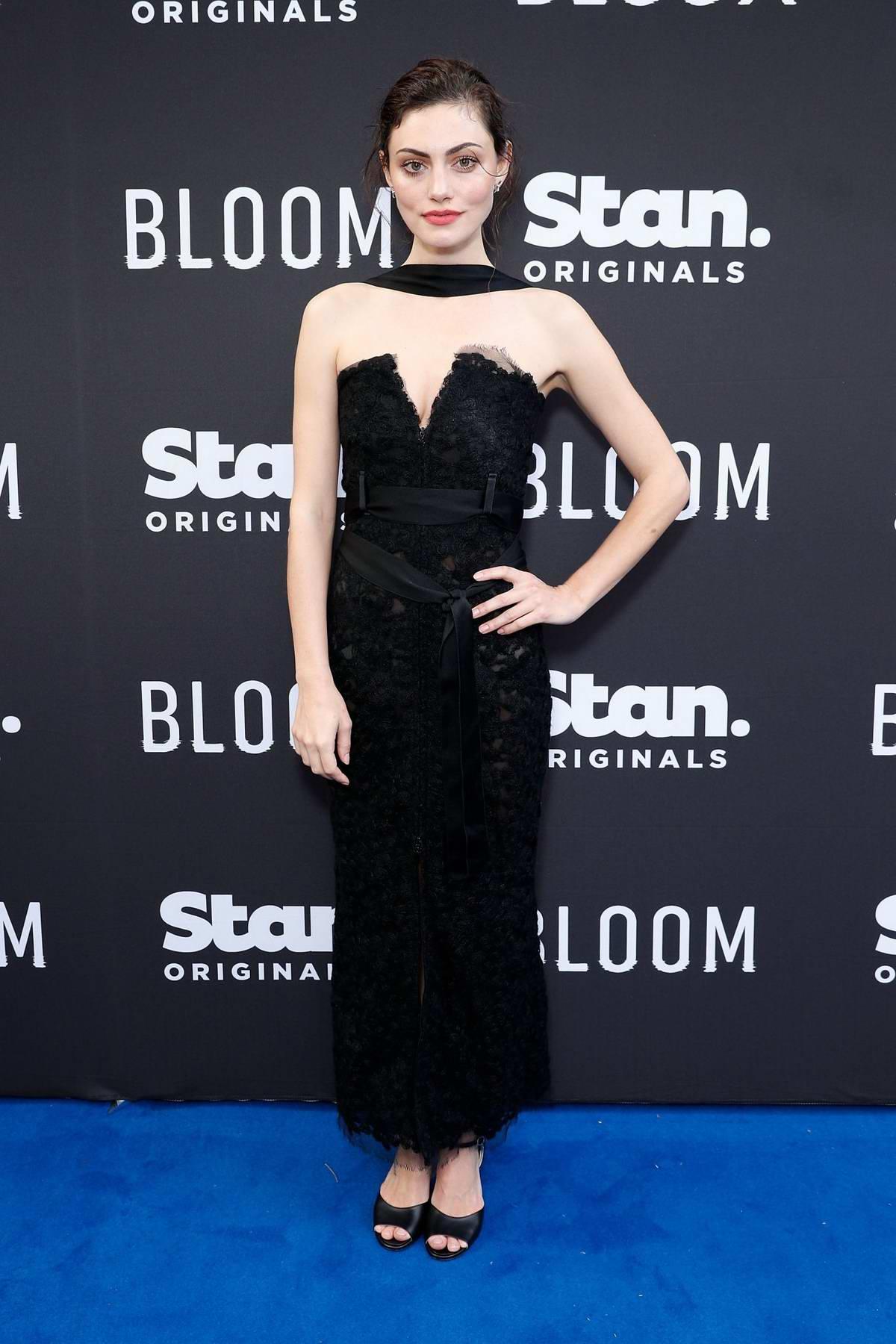 Phoebe Tonkin attends Stan Original Series 'Bloom' World Premiere in Sydney, Australia