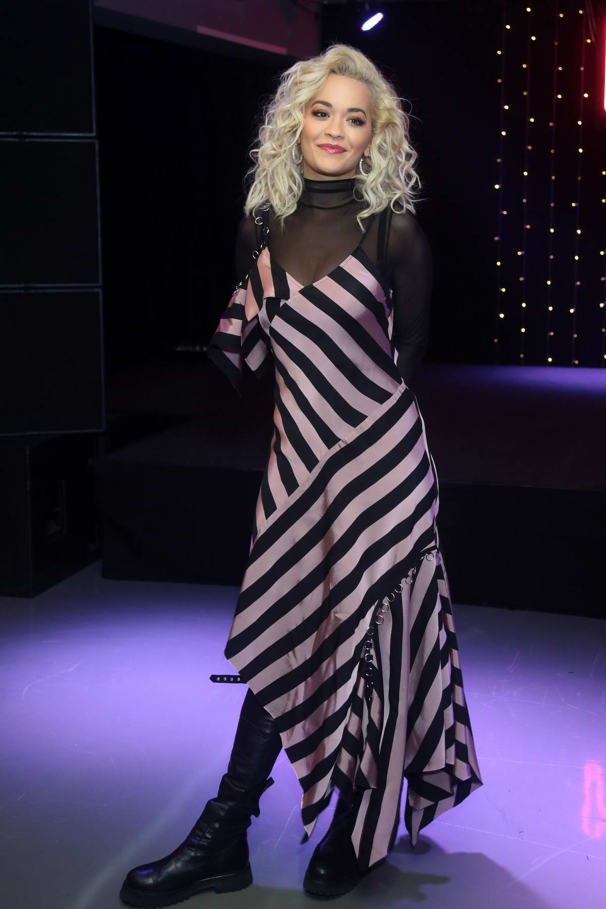 Rita Ora attends a signing session for her new album Phoenix at HMV Oxford Street in London, UK