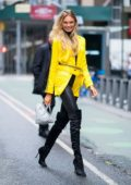 Romee Strijd attends fittings for the 2018 Victoria's Secret Fashion Show in Midtown in New York City