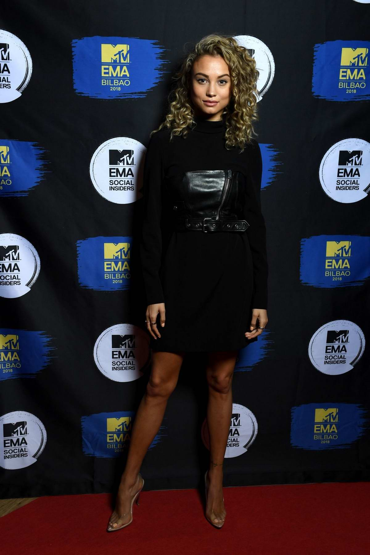 Rose Bertram attends the Social Insiders Dinner ahead of the MTV EMA 2018 in Bilbao, Spain