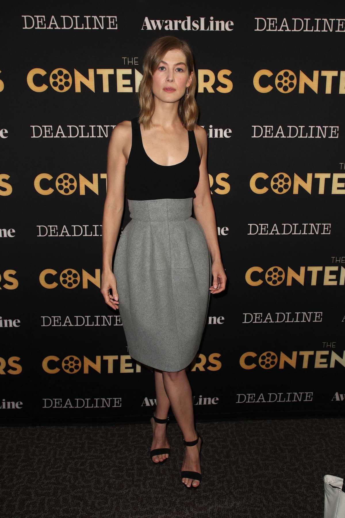 Rosemund Pike attending Deadline Hollywood presents 'The Contenders' in Los Angeles