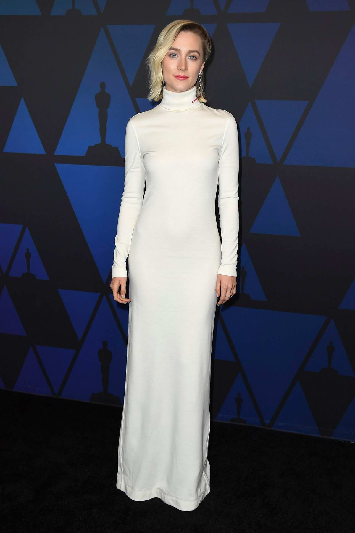 Saoirse Ronan attends the 10th Annual Governors Awards at the Academy Of Motion Picture Arts And Sciences' in Hollywood, California