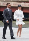 Sofia Richie and Scott Disick board a helicopter to the Derby Day races in Melbourne, Australia