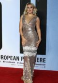 Tallia Storm attends the European Premiere of 'Creed II' at the BFI IMAX in London, UK