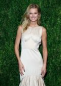 Toni Garrn attends CFDA Vogue Fashion Fund 15th Anniversary Awards in Brooklyn, New York City