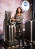 Venus Williams lights the Empire State Building in Support of Small Business in New York City