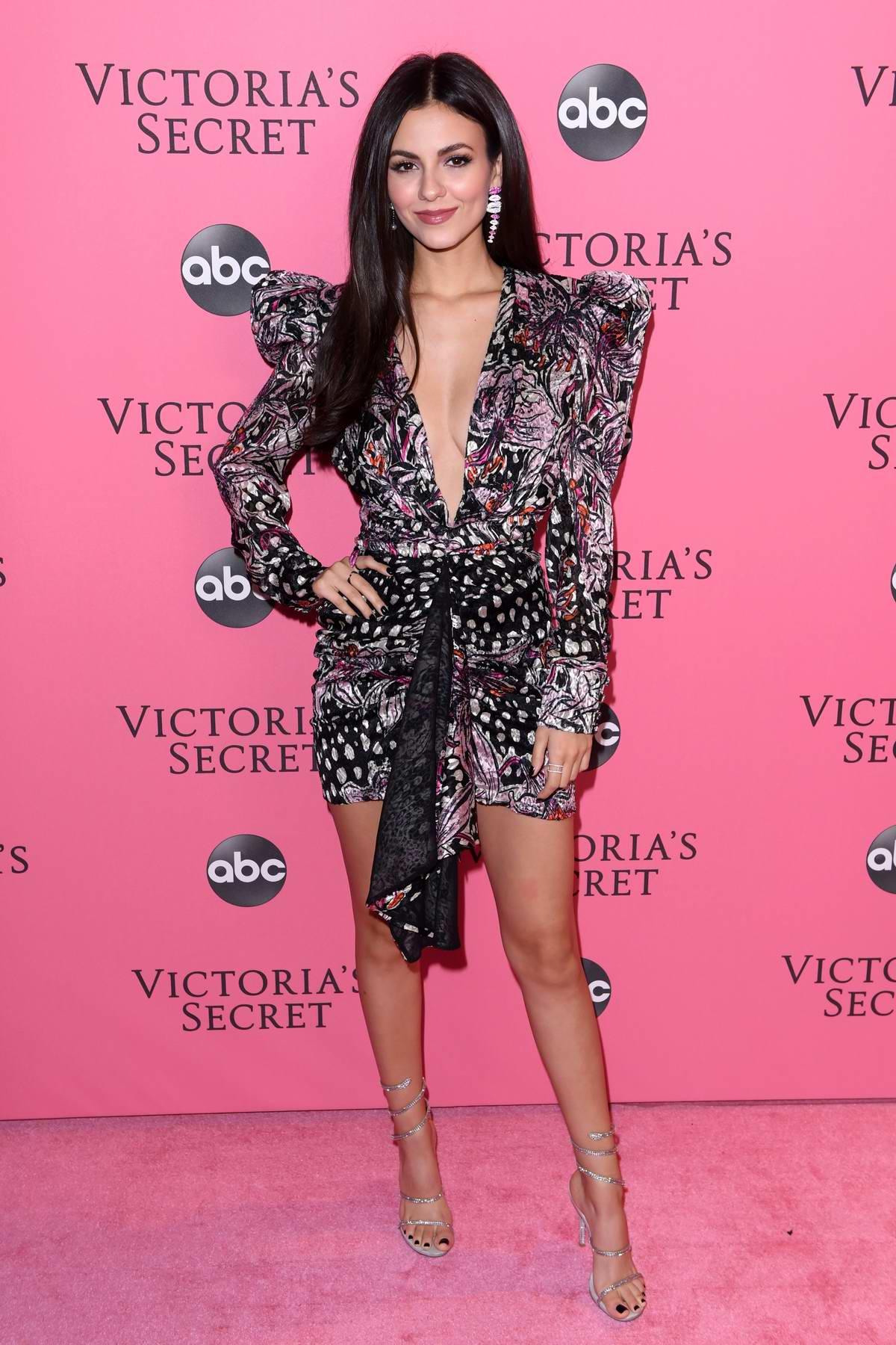Victoria Justice Attends The 2018 Victoria S Secret