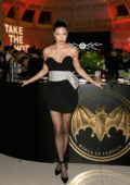 Adriana Lima attends No Commission presented by BACARDÃ x The Dean Collection at Faena Forum in Miami Beach, Florida