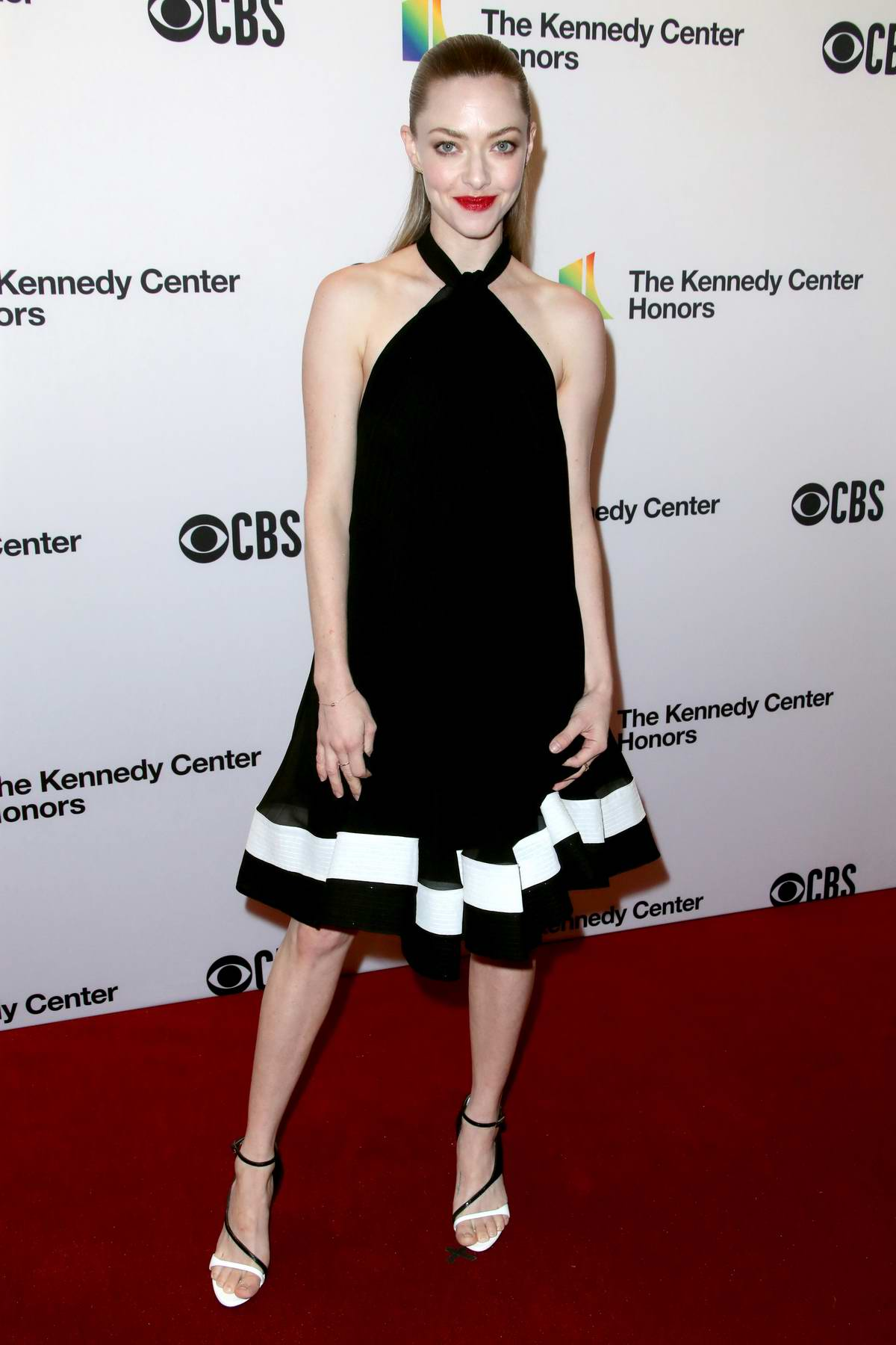 Amanda Seyfried attends 41st Annual Kennedy Center Honors in Washington D.C.