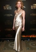 Amber Heard attends the L'Oréal Paris Women of Worth Celebration at The Pierre Hotel in New York City