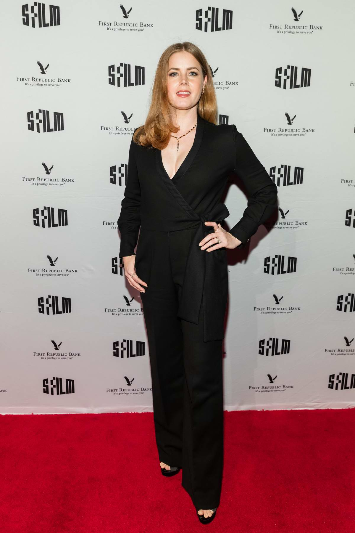 Amy Adams attends SFFILM Awards night in San Francisco