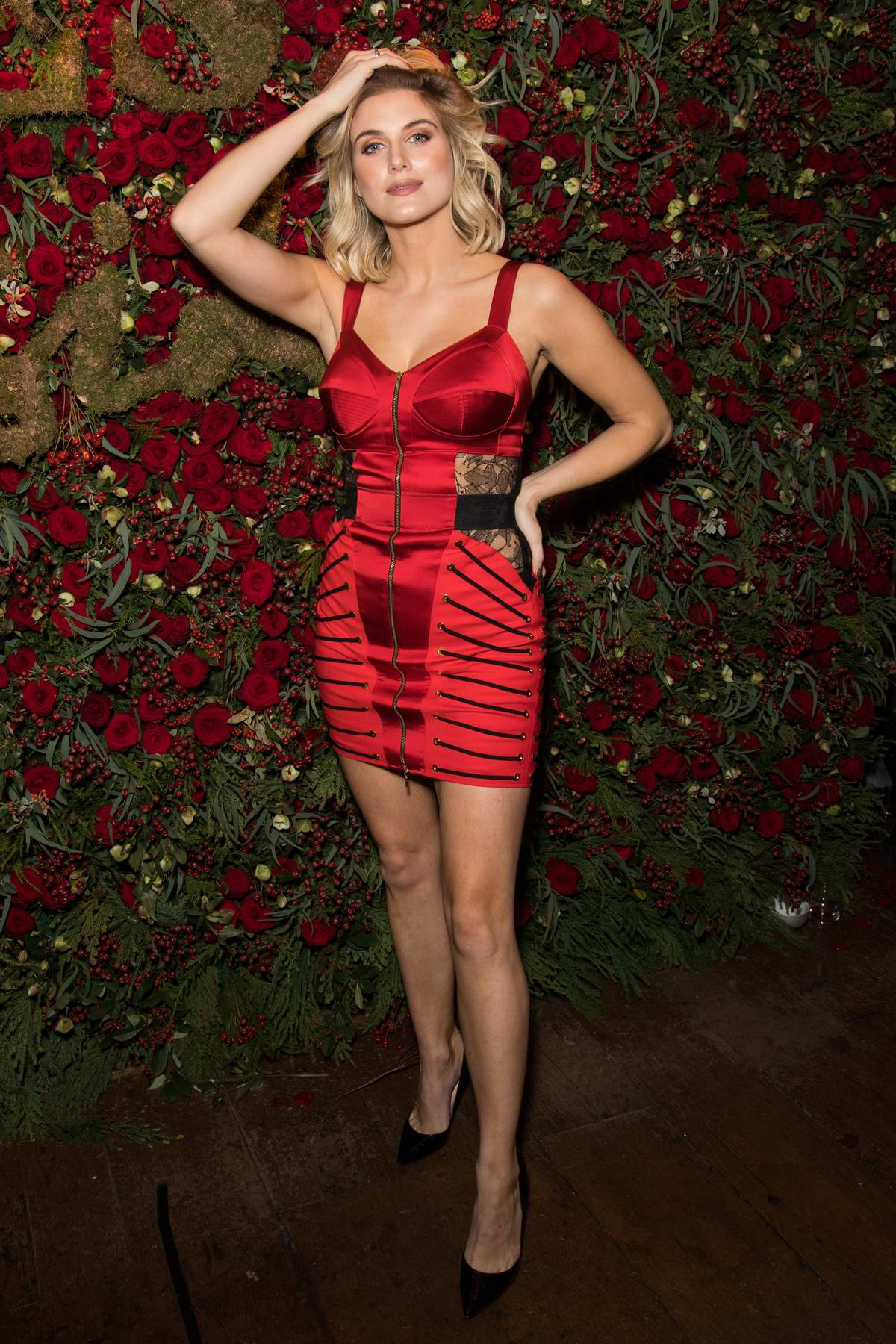 Ashley James attends the Evening Standard Insider Launch Party in London, UK