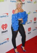 Bebe Rexha attends the 102.7 KISS FM's Jingle Ball 2018 at the Forum in Inglewood, California