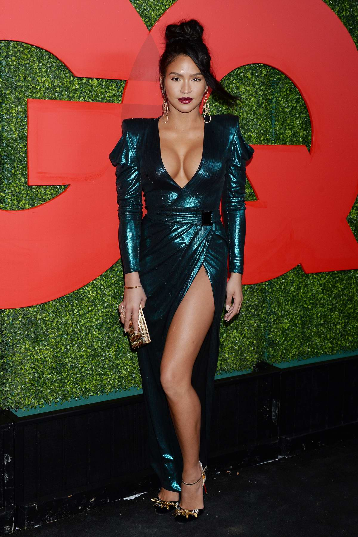 Cassie Ventura attends the 2018 GQ Men of the Year Party in Beverly Hills, California