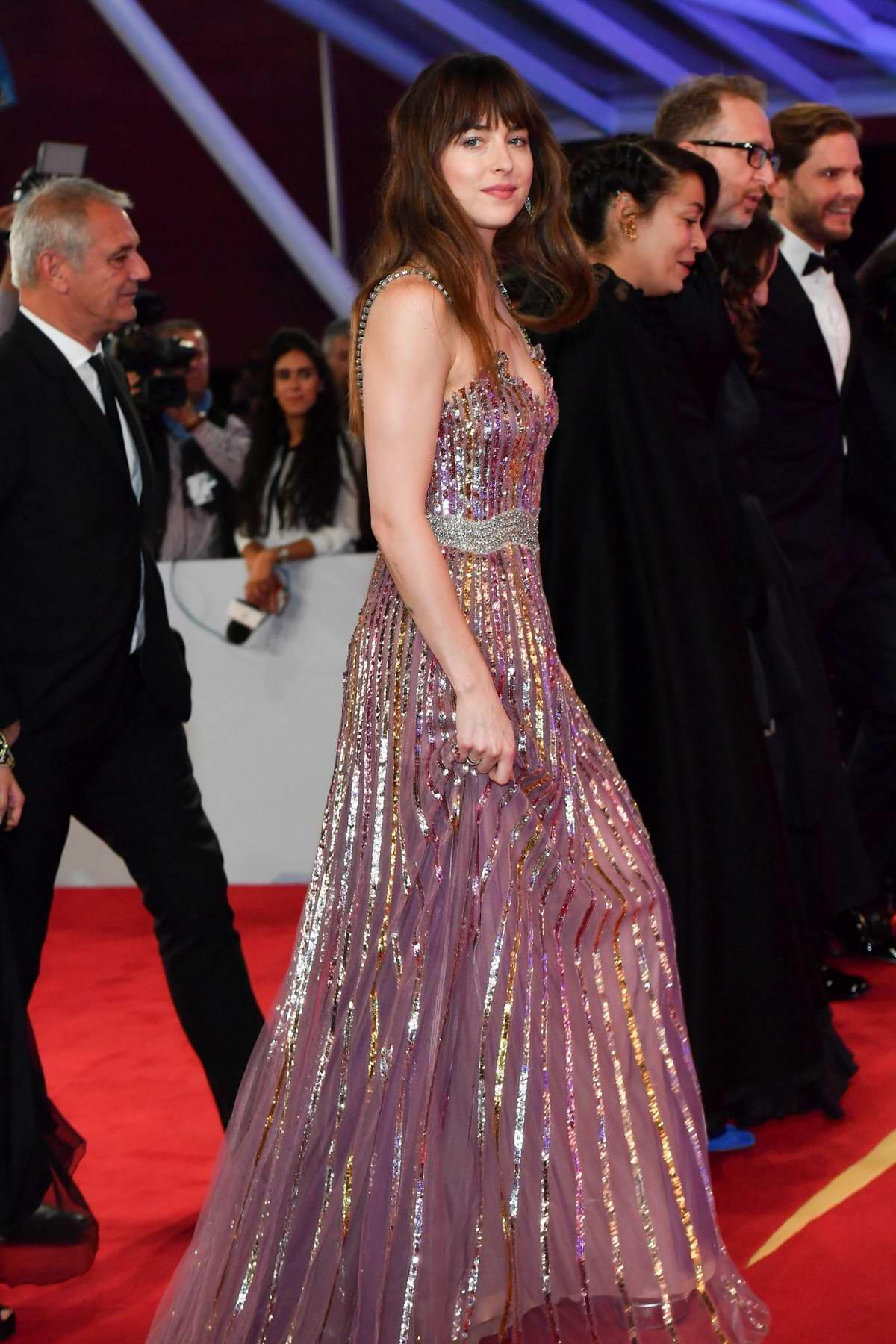 Dakota Johnson attends the 17th Marrakech International Film Festival Opening Ceremony in Marrakesh, Morocco