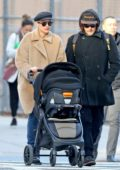 Diane Kruger and Norman Reedus seen for the first time with their baby while out for a stroll in New York City
