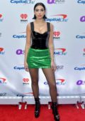 Dua Lipa attends Q102's iHeartRadio Jingle Ball in Philadelphia