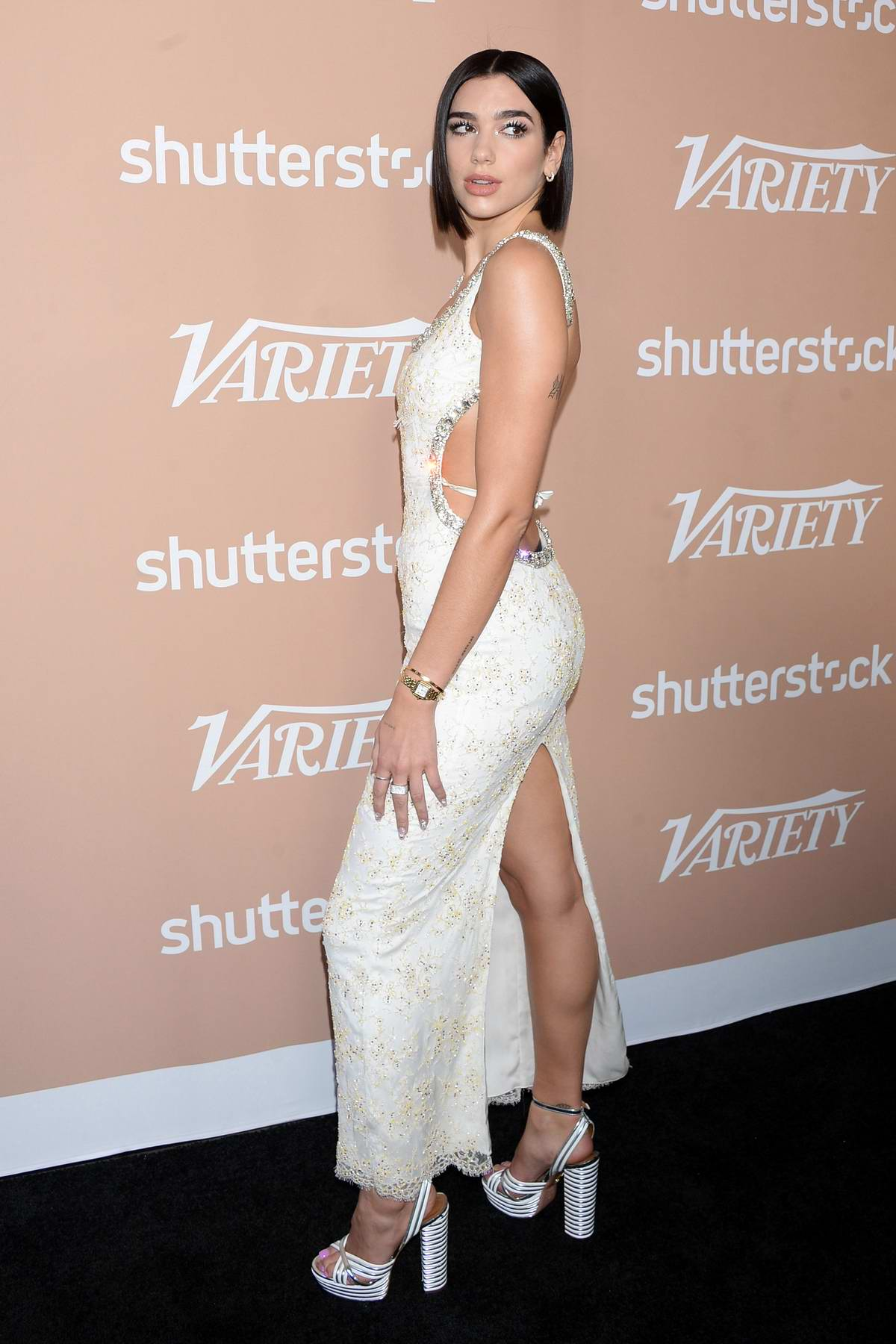 Dua Lipa attends Variety Hitmakers Brunch at the Sunset Tower Hotel in Los Angeles