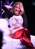 Ellie Goulding visits Hits Live at Radio Station Hits 97.3 in Hollywood, Florida